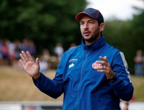 Trainer Sandro Schwarz und seine Mainzer unterliegen 7:8