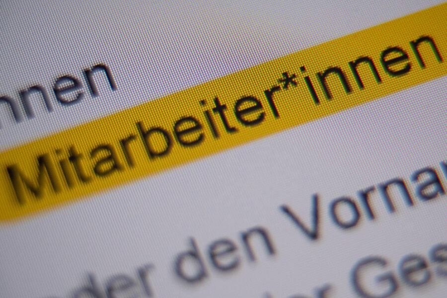 Gendern: Im vogtländischen Oelsnitz soll es der Stadtrat verbieten