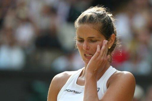 Julia Görges hat das Viertelfinale von Montreal verpasst