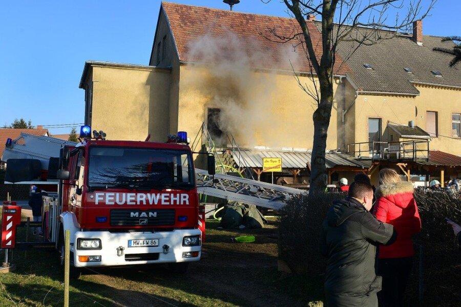 Im Domizil des Jugendclubs Berthelsdorf in Hainichen hat es am Freitagnachmittag gebrannt.