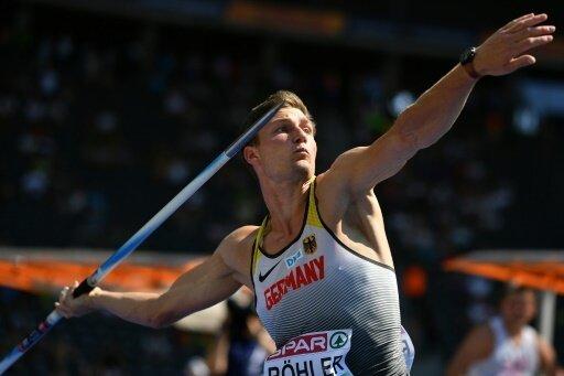 Thomas Röhler gewinnt Gold vor Andreas Hofmann