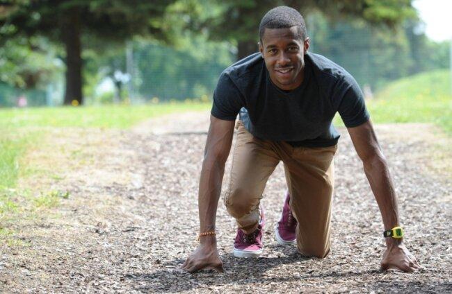 Aikan Graham startet durch - sein Ziel sind die Olympischen Spiele in Rio.