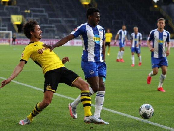 Hertha BSC muss die restliche Saison ohne Javairo Dilrosun auskommen.