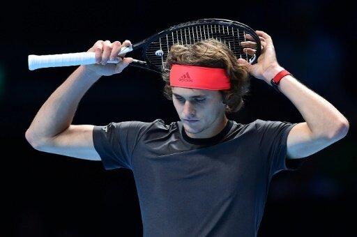 Alexander Zverev verlor gegen den Serben Novak Djokovic