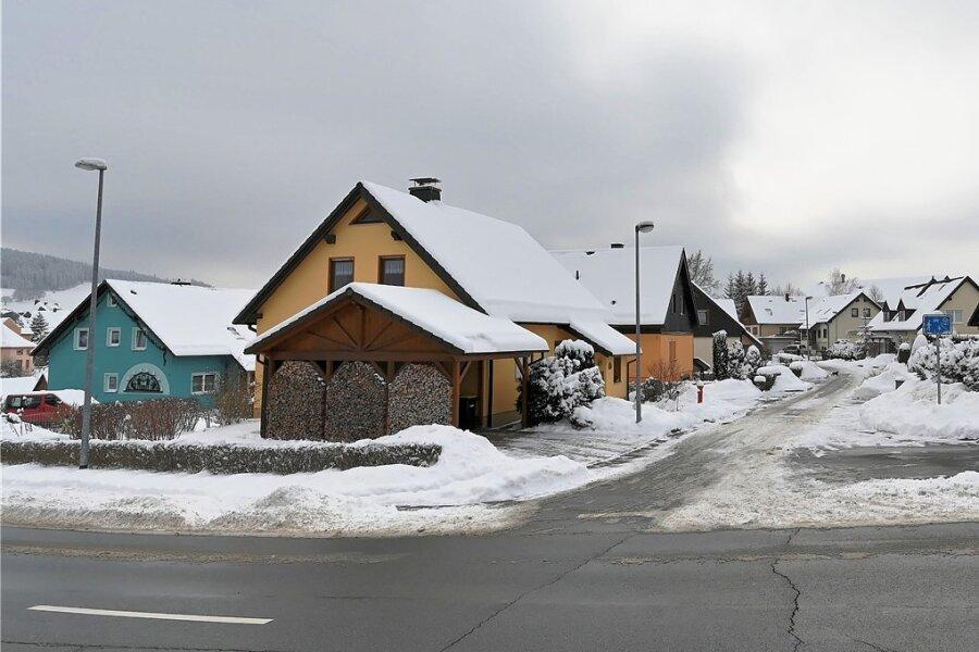 Das Wohngebiet An der Bublika in Zschorlau entstand in den 1990er-Jahren. Jetzt fehlen der Gemeinde kommunale Flächen zum Bebauen.