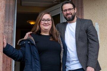 Mandy und Alexander Simon haben sich mit dem Kauf der Immobilie einen lang gehegten Traum erfüllt.