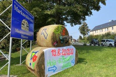 Der Holz- und Bauernmarkt auf dem Gelände der Firma Wald Jacob in Wohlhausen ist aufgrund aktueller Corona-Fälle im oberen Vogtland abgesagt.
