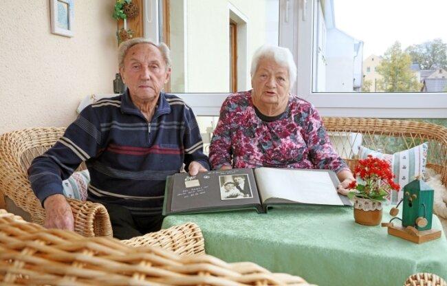 Sind seit 65 Jahren verheiratet: Ute und Gerhard Günther.