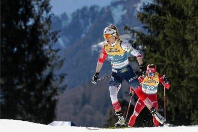 """Leicht und schnell: Therese Johaug auf dem Weg zu ihrem zweiten WM-Gold: """"Es war das beste 10-km-Freistilrennen meines Lebens."""""""