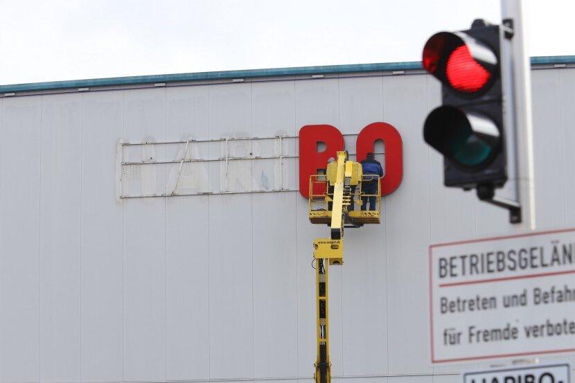 Haribo: Die roten Buchstaben verschwinden