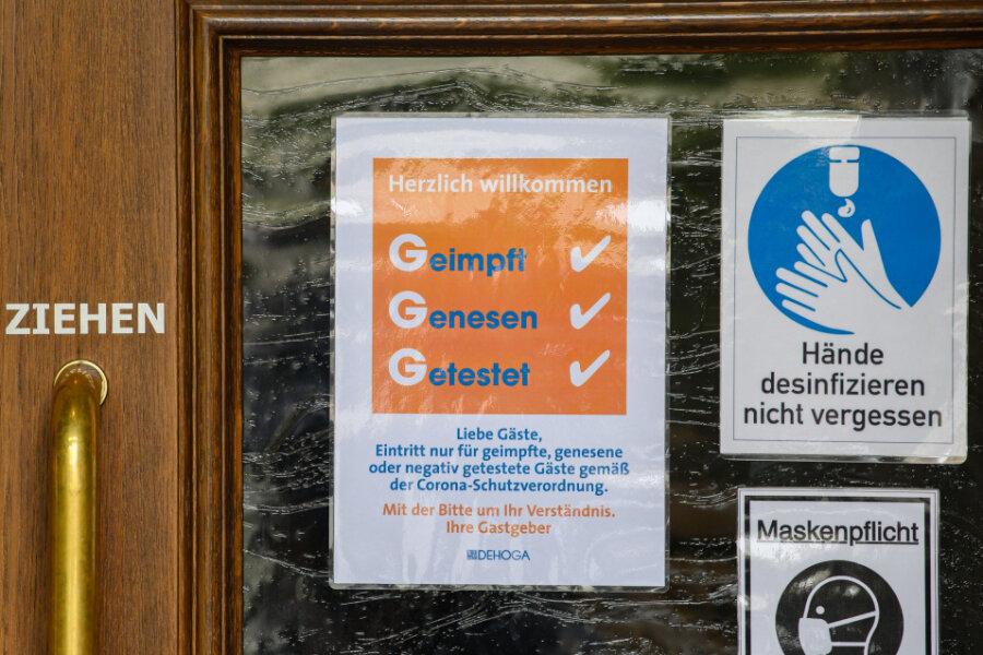 Trotz Corona-Lockerungen: Wo die 3G-Regel in Zwickau weiterhin gilt