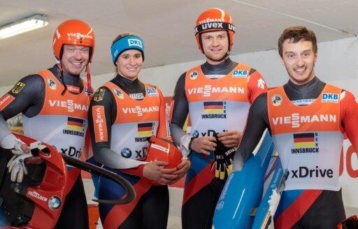 Deutsches Rodelteam hat goldene Olympiaaussichten