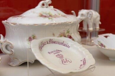 """An """"Das Ostrover Porzellan - die vergessene Schönheit"""" erinnert die aktuelle Sonderausstellung im Museum in Oberwiesenthal."""