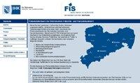 Screenshot der Unternehmensdatenbank FiS