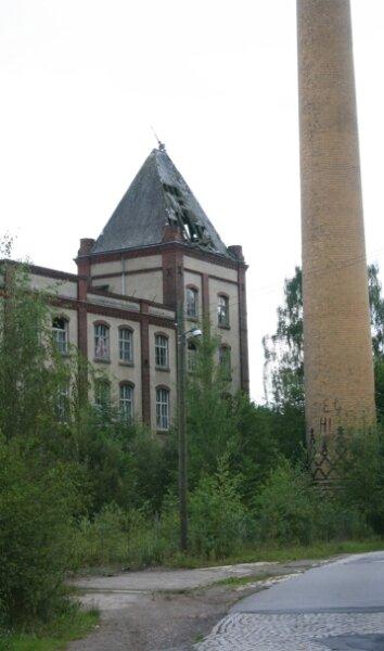 Die ehemalige Baumwolle in Erdmannsdorf ist in Privatbesitz. Die Zukunft ist unklar.
