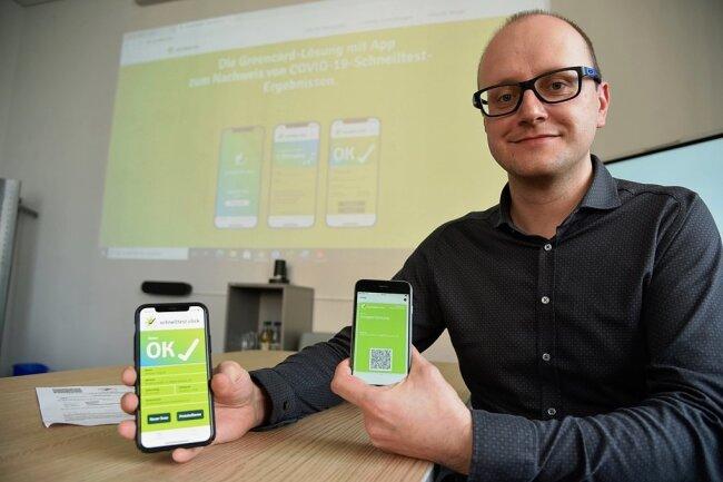 Matthes Nagel, Geschäftsführer der Firma Simba n3.