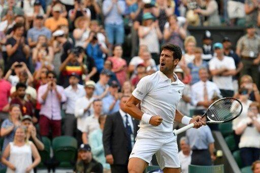 Novak Djokovic erreicht das Achtelfinale von Wimbledon