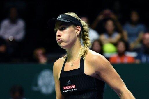 Angelique Kerber verlor ihr Auftaktspiel beim WTA-Finale