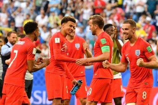 Partystimmung: England feiert Halbfinal-Einzug