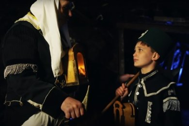 Szene aus dem Kurzfilm.