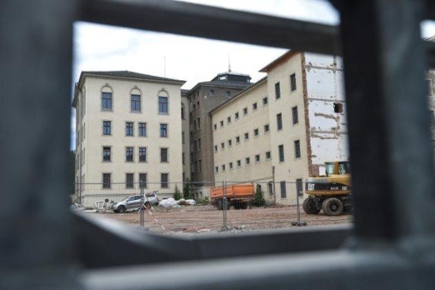 Das Gelände des Kaßberg-Gefängnisses.
