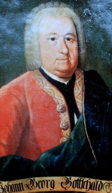 Diese drei Gemälde wurden vor 30 Jahren gestohlen. Sie zeigen Johann Löbel (links), den ersten Bürgermeister von Johanngeorgenstadt, den Hammerherren Johann Georg Gottschald und seine Frau Maria Regina.