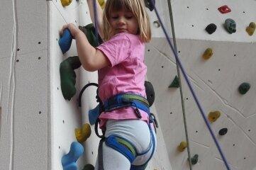 Die siebenjährige Fiona Kunz nahm an der Aktion teil.
