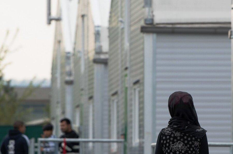 Flüchtlingsunterkunft in Dresden: Die Kapazität der Einrichtung soll erhöht werden.