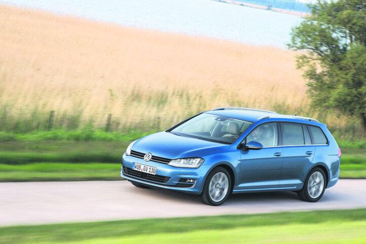 Der neue Volkswagen Golf Variant.