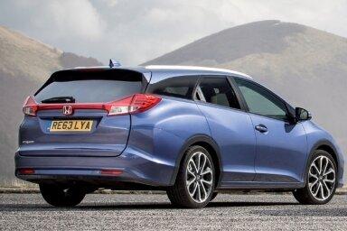 Das Blechkleid des neuen Honda Civic Tourer trifft nicht den Geschmack der Allgemeinheit. Dabei wurde es in Europa für Europa entwickelt.