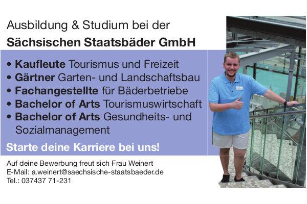 Anzeige: Sächsische Staatsbäder GmbH