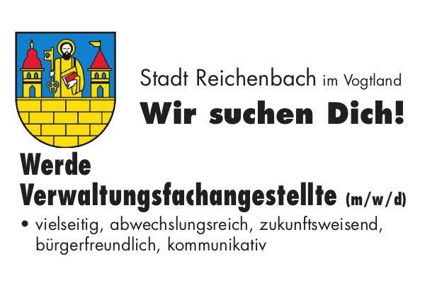 Anzeige: Stadtverwaltung Reichenbach