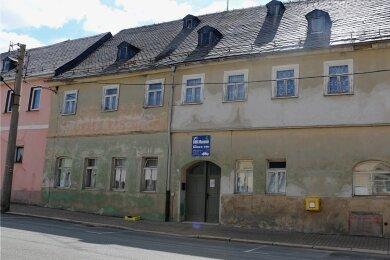 Das ehemalige Kindergarten-Gebäude, in welchem zuletzt das DDR-Museum war. Das Haus soll abgerissen werden.