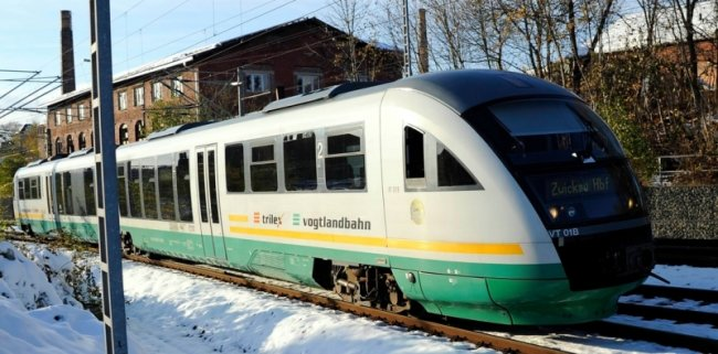 Die Vogtlandbahn ist angesichts der aktuellen Finanzierungspläne des Freistaates besorgt.