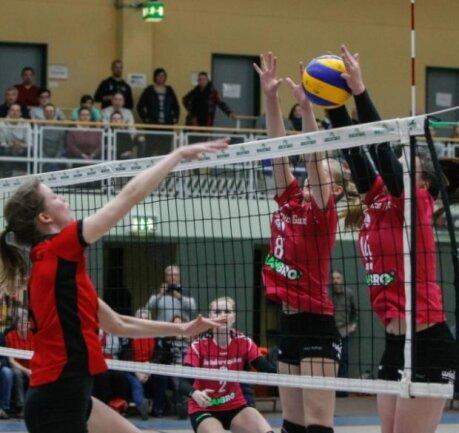 Spielerinnen des CPSV bei einem Spiel gegen den TSV Ansbach.