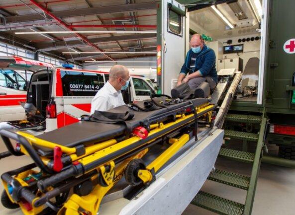 Am Leuchtsmühlenweg sollen künftig Ambulanz- und Rettungsautos sowie Fahrzeuge für das Technische Hilfswerk gebaut werden.