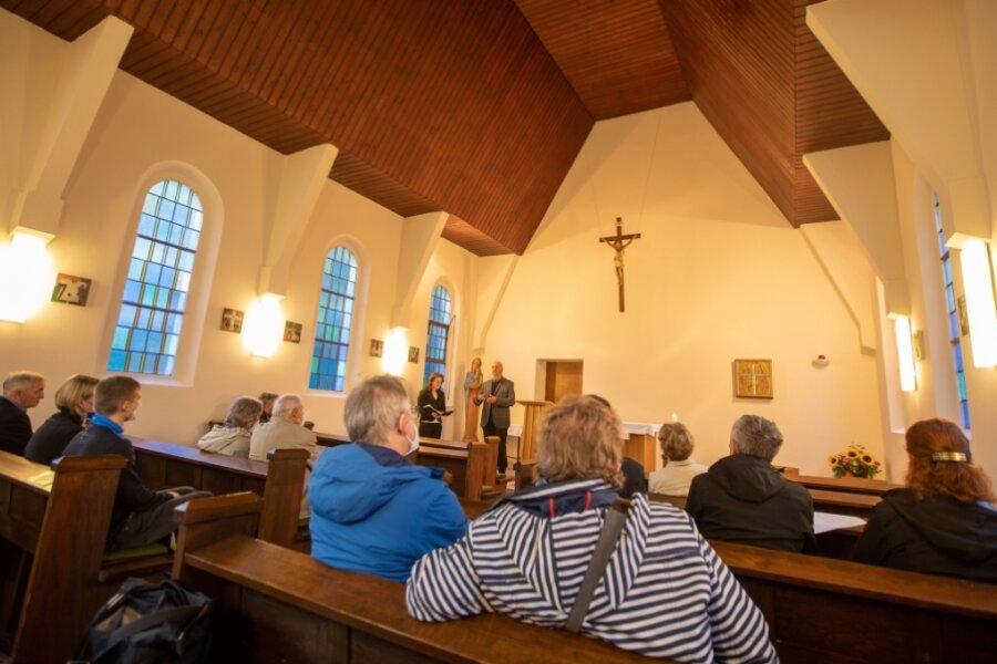 Katholische Kapelle St. Ulrich in Weischlitz öffnet zur Nacht der offenen Kirchen