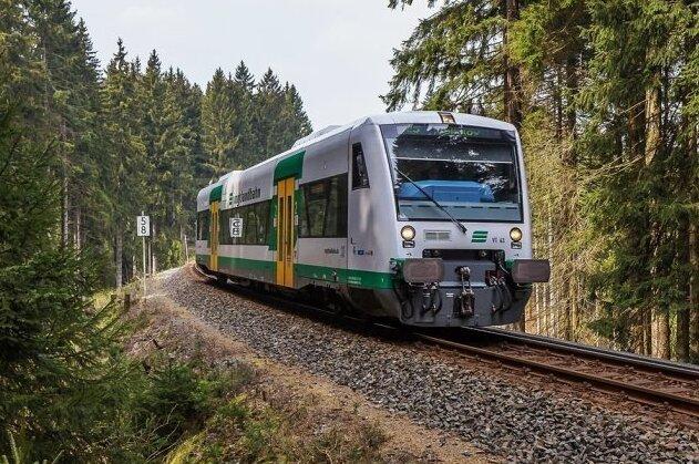 Die Züge der Vogtlandbahn fahren ab Montag wieder über die Grenze nach Tschechien.