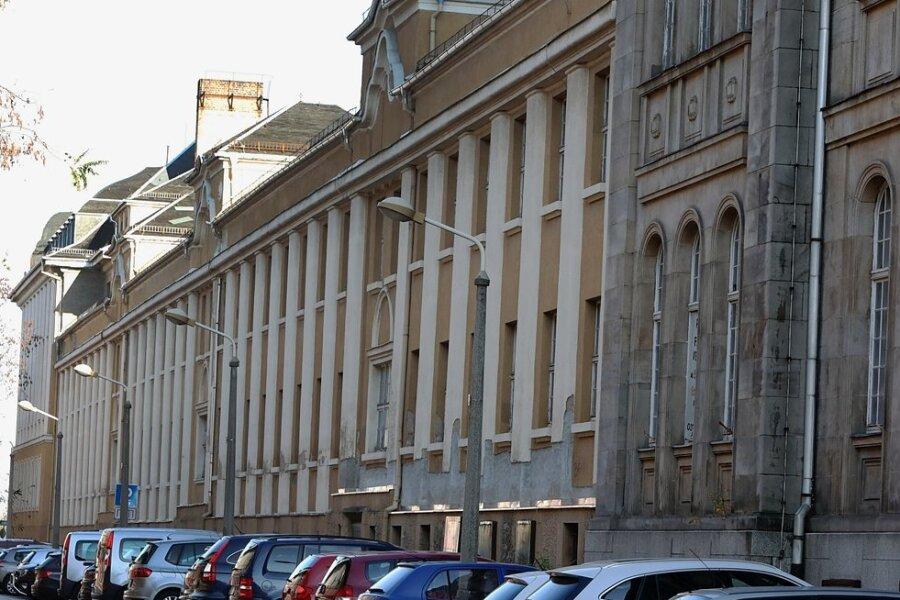 Die Palla-Industriebrache im Glauchauer Stadtzentrum steht vor ihrer Sanierung.