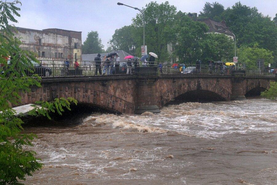 Die Flut im Juni 2013 sorgte auch in Mittweida für Schäden. Seither haben sich weitere Haushalte gegen Hochwasser gewappnet.