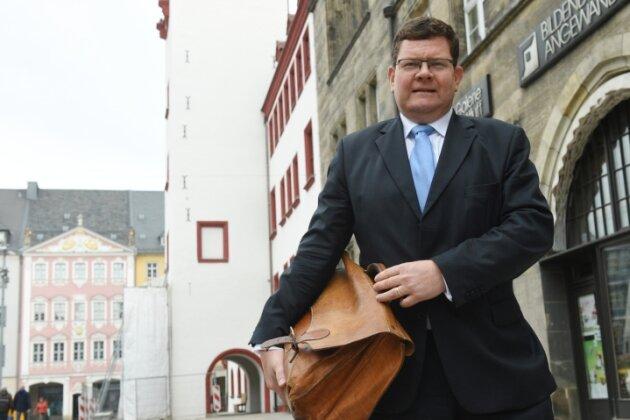 Für ihn ist noch kein Nachfolger gefunden: Philipp Rochold, bisher Bürgermeister für Bildung, Jugend, Soziales, Kultur und Sport.