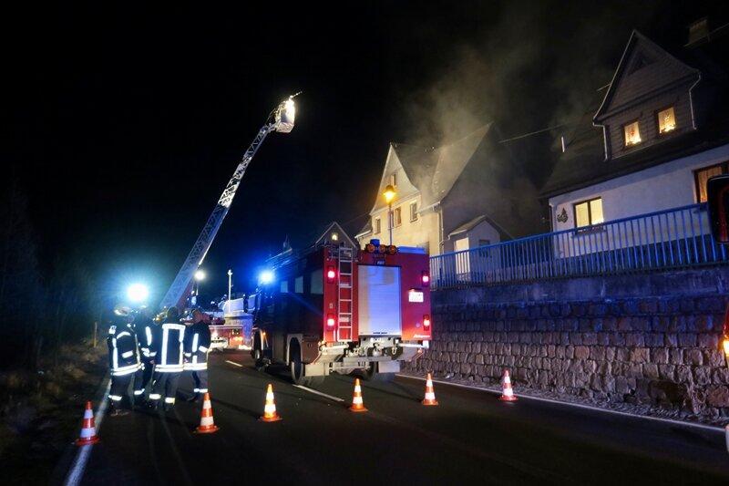 Feuer in Heizungsraum - Haus derzeit nicht bewohnbar
