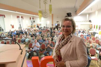 Nach dem Willen der CDU-Basis soll Veronika Bellmann weiterhin Mittelsachsen im Bundestag vertreten.