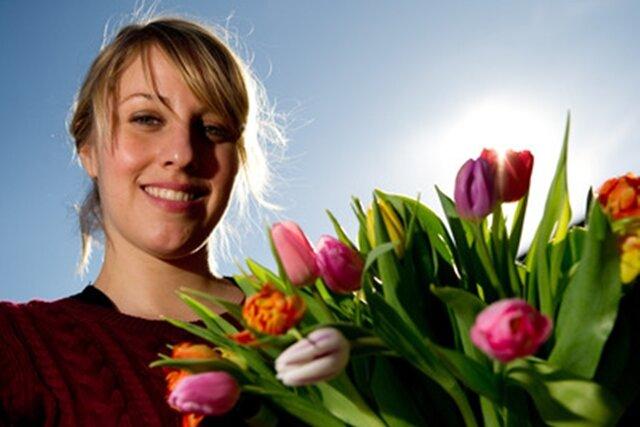 Blumenläden in Sachsen sind ab Montag wieder geöffnet.