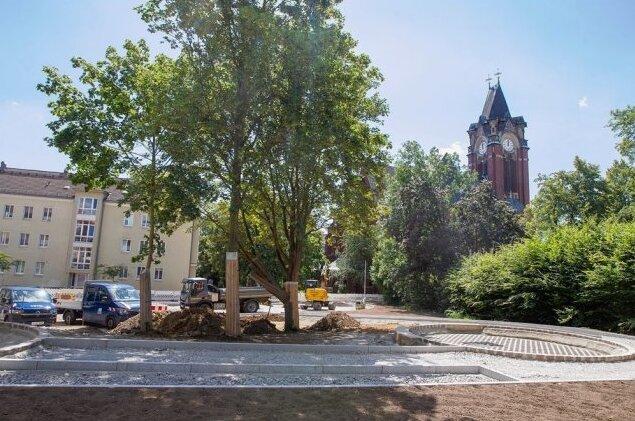 Grünes Licht für Spielplatzbau: An der Paul-Schneider-Straße in Plauen sind keine Blindgänger entdeckt worden.