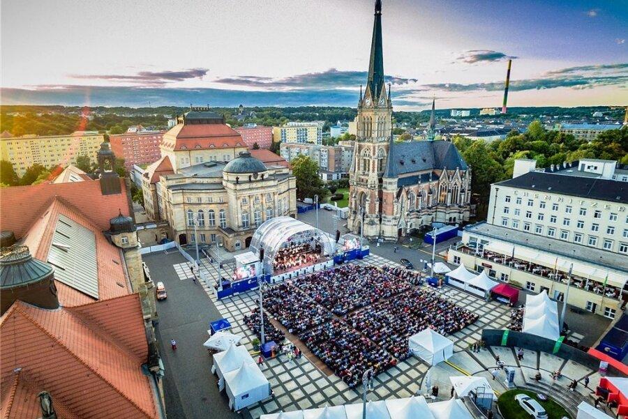 Die Filmnächte auf dem Theaterplatz in Chemnitz gehen in eine neue Runde.