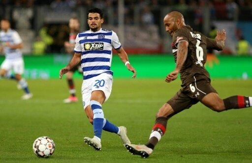 Der FC St. Pauli bezwang den MSV Duisburg mit 1:0