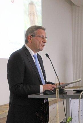 Im November 2013 zog Erich Fritz Bilanz zum Abschluss der Altlastensanierung in der Freiberger Region.