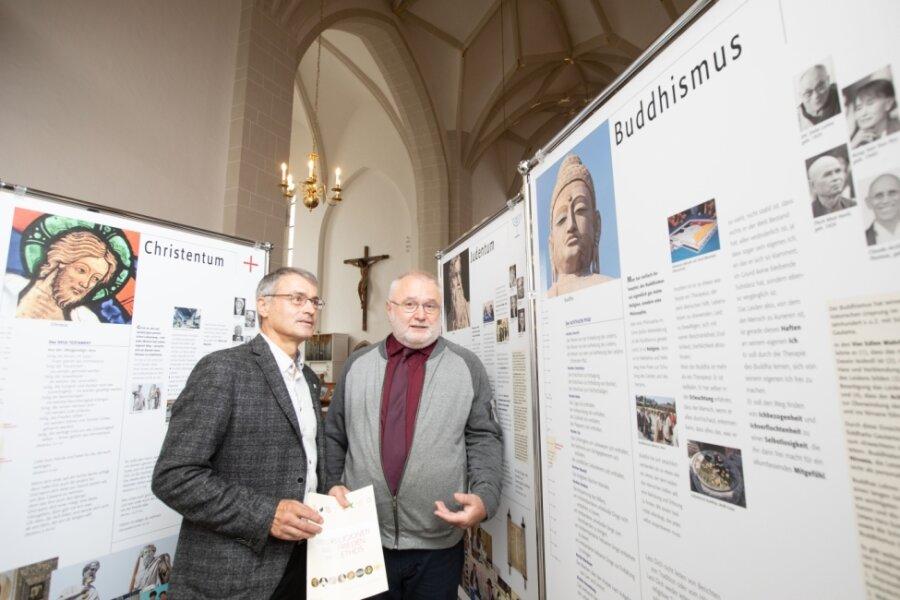 Plauener Johanniskirche öffnet Türen für Religionen dieser Welt