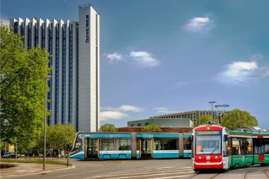 Blick in die Zukunft: So in etwa könnte es in zehn Jahren im Bereich Hartmann-/Mühlen-/Theaterstraße aussehen.